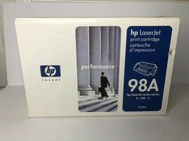 HP 98A Black Toner Cartridge92298A HP LaserJet Printer Cartridge 98A - $19.80