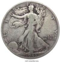 1943 S Walking Liberty Half Dollar 90% Silver - $11.88