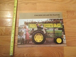 John Deere 850 and 950 Tractors Vintage Dealer sales brochure 2 - $15.99
