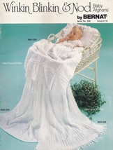 Winkin Blinkin & Nod Baby Afghans, Bernat Crochet and Knit Pattern Bookl... - $5.95