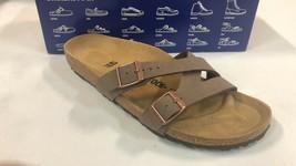 Birkenstock Womens Yao Balance Mocha Sandals EUR 40  NIB $99 narrow - $79.19
