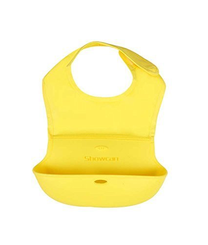 Waterproof Comfortable Baby Bib/Pinafore for Baby,Yellow