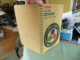 03#   Pre-owned Kodak Color Dataguide Manual Data Book 1971 - 4th Edition - $9.89