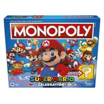 Monopoly Super Mario Celebration Edition w/ Sound Effects New - $52.24