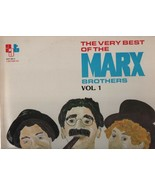 The Very Best of the Marx Brothers Vol. 1 - AAT 201/2 - Two Record Set. - $8.15