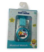 Pinkfong Baby Shark Musical Wristwatch Kids Blue Watch New - $14.90