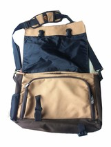 Timberland Medium Tan College School Messager Hobo Bag adjustable Strap ... - $33.85