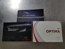 Owners Manual OEM No Case For 2013 Kia Optima 844475 - $44.50