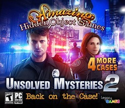 Legacy Games Unsolved Mysteries 2: Amazing Hidden Object Games PC - $22.23