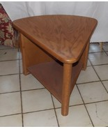 Oak Triangle End Table / Side Table - $249.00