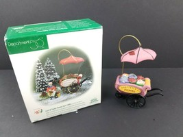 Dept Department 56 1999 LORD & TAYLOR FLOWER CART #2250 *NO LADY JUST CART* - $12.12