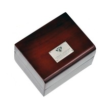 Authentic Aqua Master Diamond Watch Brown Wood Box All Papers - $149.00