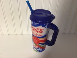 Universal Studio Souvenir Tall Plastic Collectible Cup With Lid Straw 8.... - $12.19