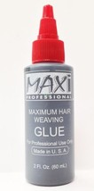 MAXI PROFESSIONAL MAXIMUM  HAIR WEAVING GLUE 2oz MADE IN USA