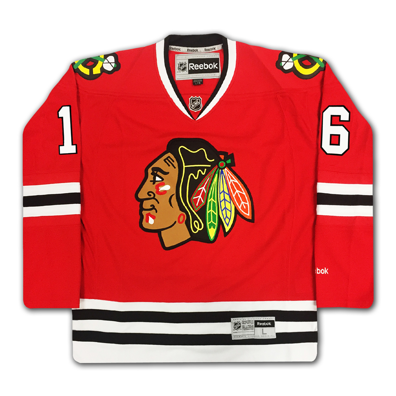Bobby Hull Blackhawks 16 Bobby Hull Numb...
