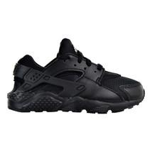 Nike Huarache Run (PS) Little Kid's Shoes Black-Black 704949-016 - $84.95