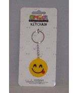 Almar Emoji Expressions Key Chain Ring  - New - Tongue Out Emoji - $4.74