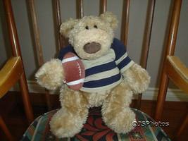 Gund Pottery Barn Kids Plush Teddy Bear Sports Clancy 15 Inch 43098 2003 - $86.85