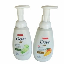 X2 Dove Instant Foaming Body Wash Mango Butter And Cucumber Green Tea Body - $18.60
