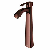 Vigo VG03023 Bronze Otis Single Hole Bathroom Faucet For Vessel Sink - $78.21