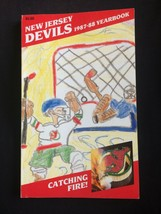 NEW JERSEY DEVILS  NHL Media Guide 1987-1988 FREE SHIP USA+CANADA - $24.99