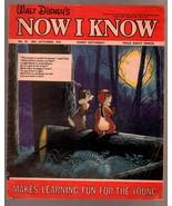 Walt Disney's Now I Know #55 1973-U.K-Chip & Dale-G - $31.53