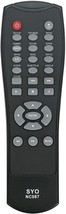 Nc087 Nc087Uh Replaced Remote Fit For Sanyo Dvd Player Fwdp105F Fwdp105 ... - $18.99