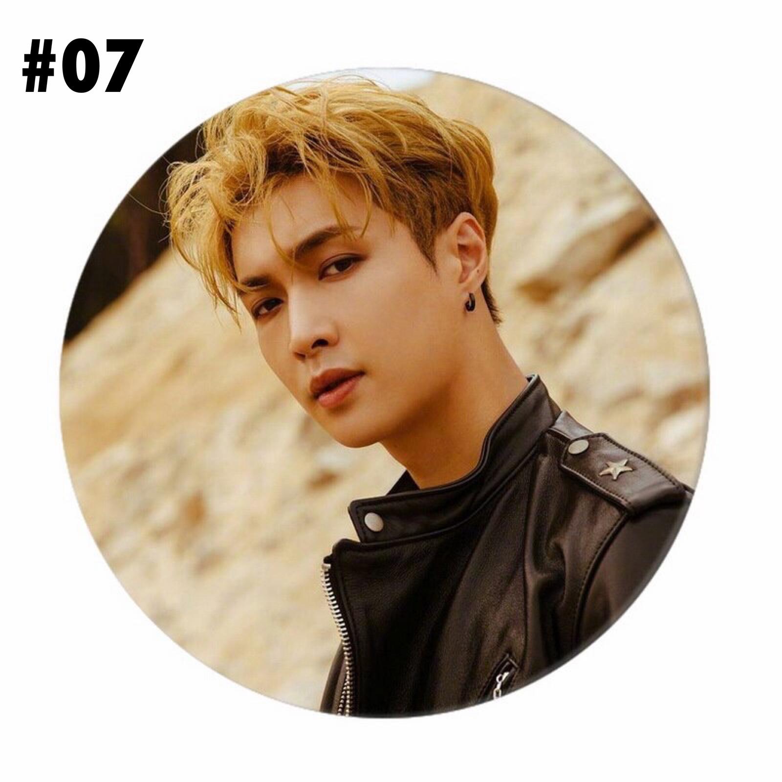 EXO Kpop Chanyeol Baekhyun Badge Brooch Pin Lapel Backpack Jewellery Accessories image 7