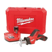 Cordless Reciprocating Saw 12 Volt w/ Two 1.5Ah Batteries Charger Hard C... - $158.20