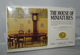 The House Of Miniatures 40006 Hepplewhite 3 Pezzi Tavolo da Pranzo Set 1... - $49.50