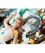 Ursula Andress In Casino Royale By Roulette Wheel 24x18 Poster - $23.99