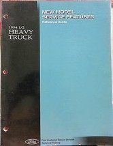 1994 Ford Heavy Truck New Model Service Features OEM Factory Dealer - $12.15