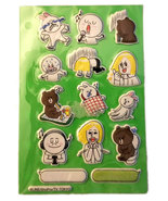 LINE (14) Anime Puffy Sticker Sheet - $4.88