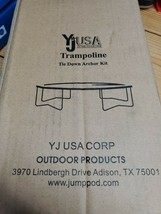 YJUSA Trampoline Anchors Kit Tie Down System Set of 4 - $35.15
