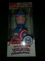 Captain America - 2008 Funko Wacky Wobbler Marvel Comics Avengers Bobble Head - $12.95