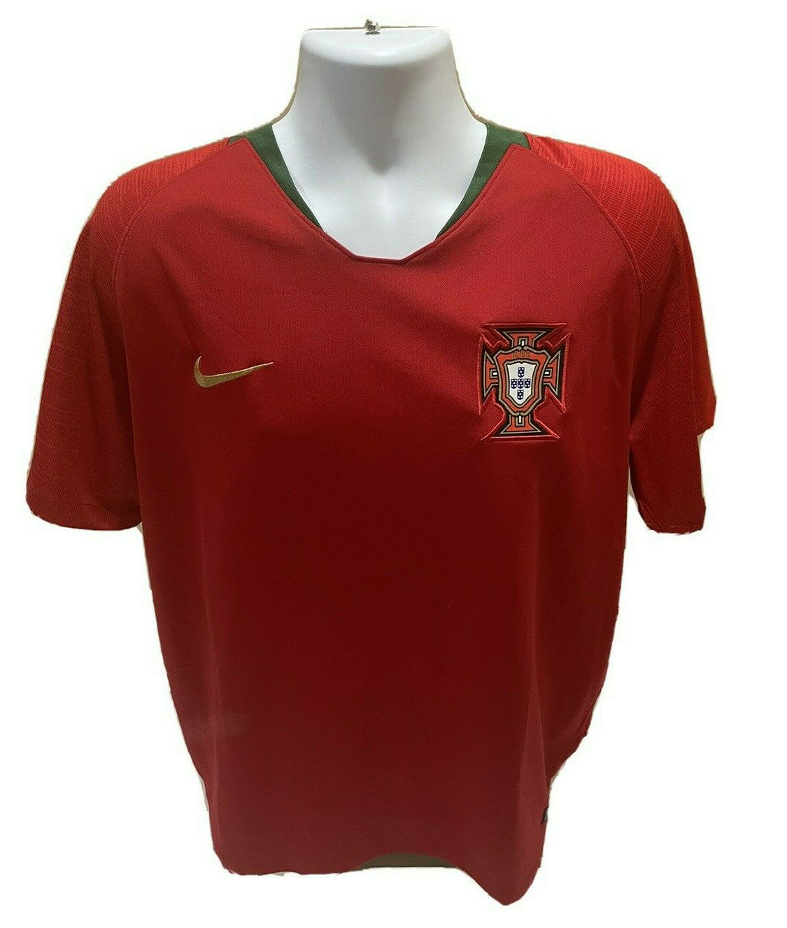 2018 Nike Dri-Fit Authentic Portugal National Soccer Team Jersey Mens XL NWOT - $29.99