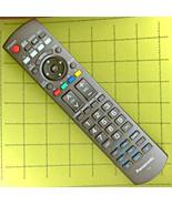 Panasonic N2QAYB000220 HDTV REMOTE ✚ TC-37LZ800 TH-46PZ85U TH-58PZ800U M... - $28.45