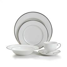 Mikasa Cameo Platinum 5 Piece Dish Dinnerware Dining Set - $79.20