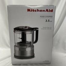 KitchenAid Food Chopper 3.5 Cups Silver Chop Mix Puree - $65.00