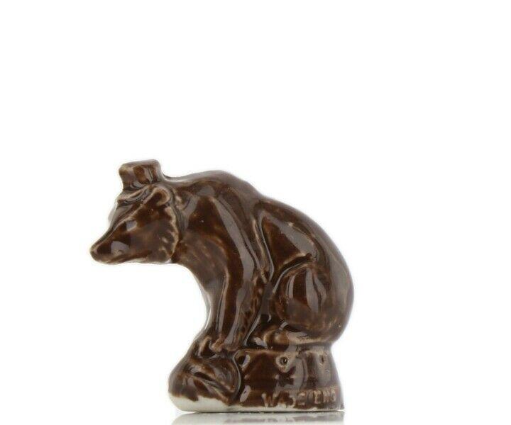 Wade Whimsies Porcelain Miniature Circus Bear