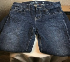 Guess Jeans Daredevil Boot Womens Dark Wash Boot Cut Jeans Size 31 - $18.66
