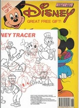 Disney Magazine #154 UK London Editions 1989 Color Comic Stories GOOD+ WS - $2.25