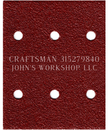 Build Your Own Bundle CRAFTSMAN 315279840 1/4 Sheet No-Slip Sandpaper - ... - $0.99