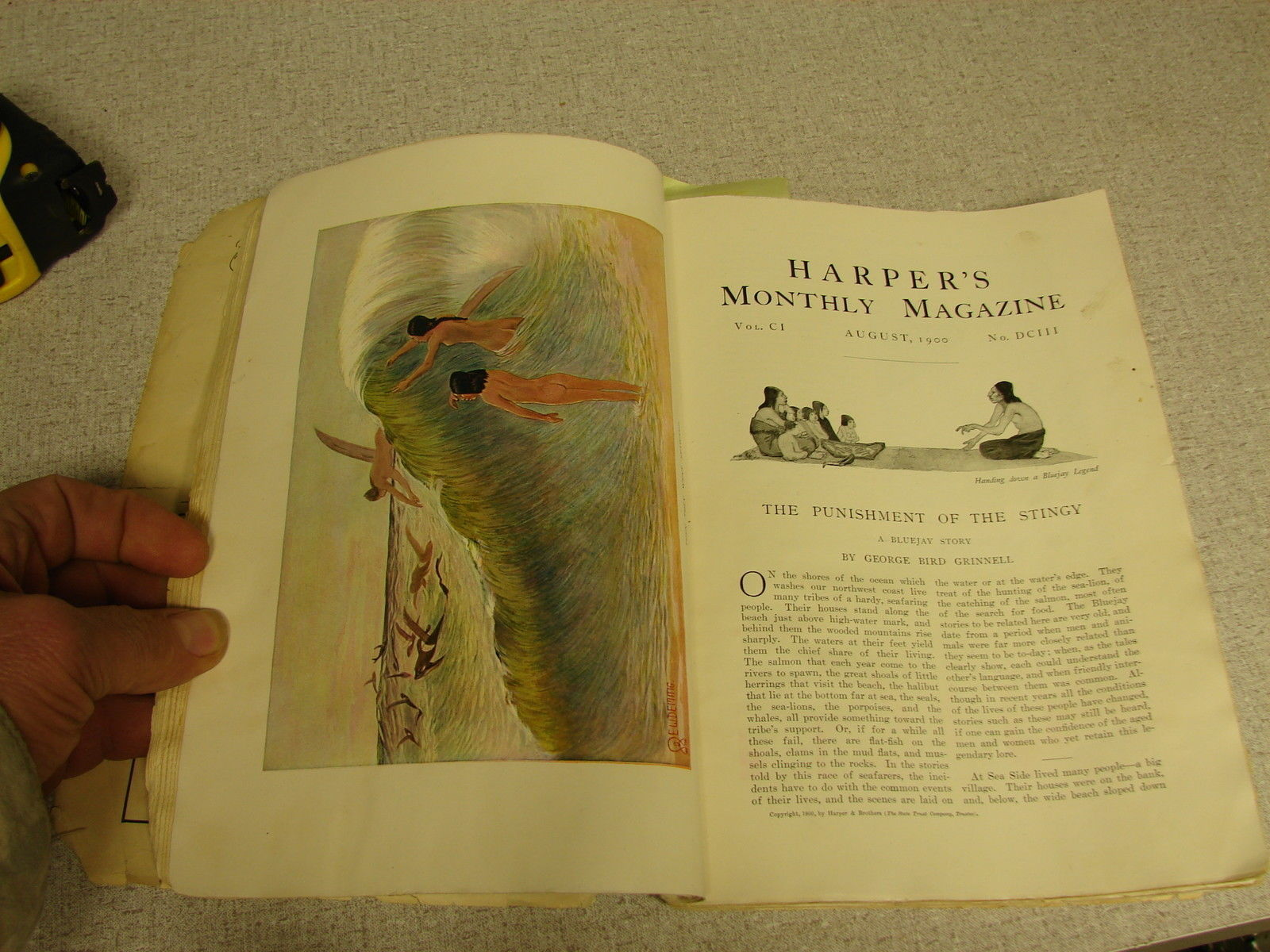 Harpers monthly magazine No. 603 August 1900 image 6