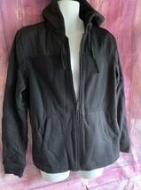 NWOT Mens Apt.9 Size M. Black Faux Lined Hoodie - $25.00