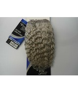"Foxy Silver 8"" Salt n' Pepper 100% Human Hair Jerry Curl Weave Grey Colo... - $28.99"