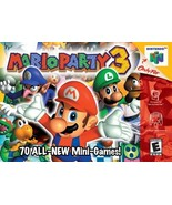 Mario Party 3 N64 Great Condition Fast Shipping - $69.93