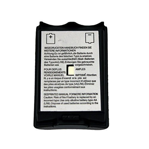 Black Battery Pack Cover for Xbox 360 Wireless Controller by Mars Devices