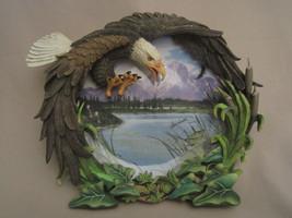 BALD EAGLE collector plate SUMMER'S GLORY Steve Hardock FOUR SEASONS OF ... - $24.99