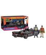 Batman 1966 TV Series and Robin 3 3/4-Inch Figures with Batmobile Vehicle - $63.69